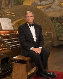 Robert Huw Morgan, University Organist in Office for Religious Life, Lecturer in Music